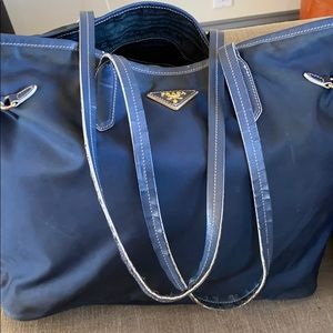 Authentic Prada Tote Bag Purse